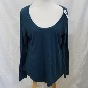 New Old Navy Relaxed Blue Tee